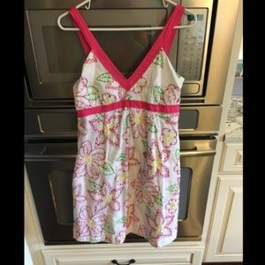 Lilly Pulitzer Floral Print Dress, Size 6